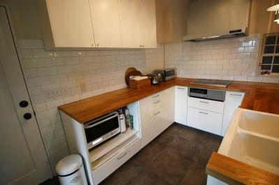 画像3: U型キッチン