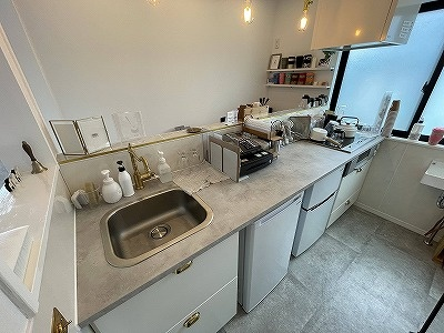 画像1: I型キッチン